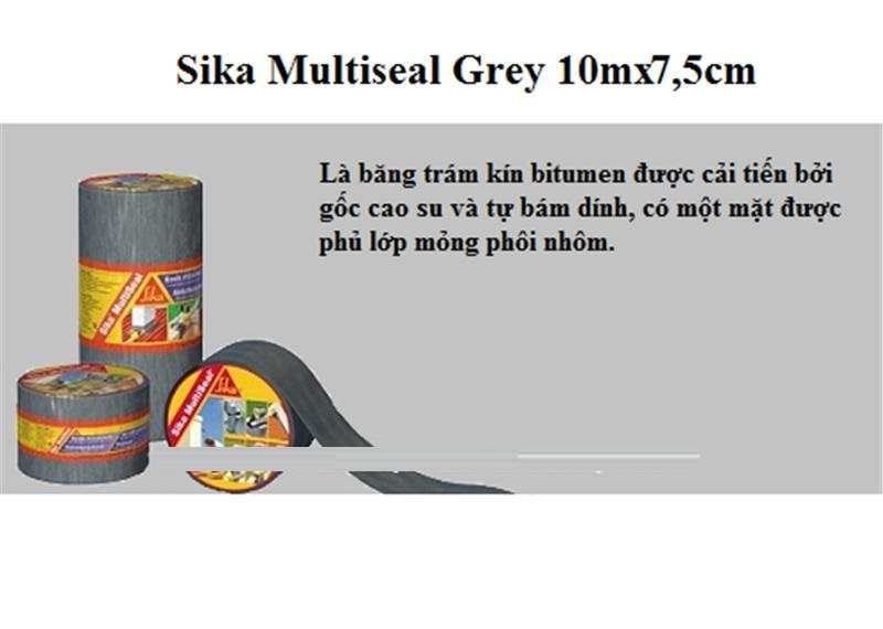 Sika Multiseal Grey 10mx7,5 cm